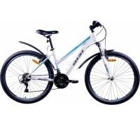 "Велосипед Aist Quest W 26"" (белый/серый/голубой)"