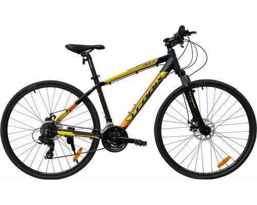 """Велосипед Tropix Velo HR 28"""" (черный/желтый)"""