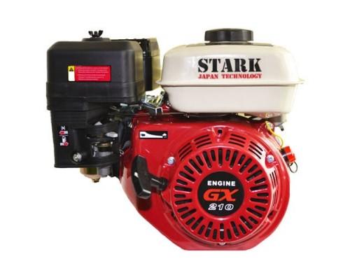 Двигатель бензиновый STARK GX210 FS (7 л.с., Шлиц ф20мм)
