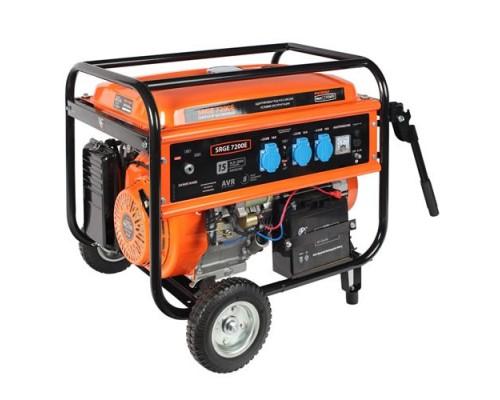Электростанция (генератор бензиновый) Patriot Max Power SRGE 7200E (6,5кВт)