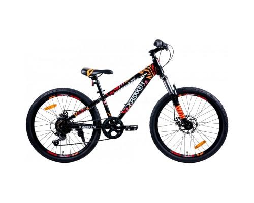 """Велосипед Krakken Bones 24"""" (черный)"""