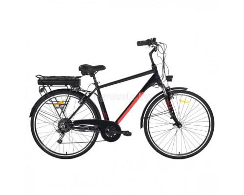 """Электровелосипед Aist Amper 28"""" (черный)"""