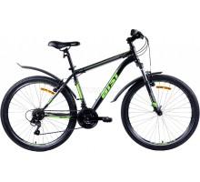 """Велосипед Aist Quest 26"""" (черный/зеленый)"""