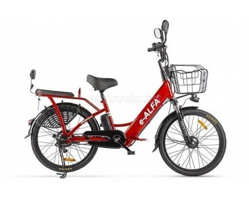 """Электровелосипед Eltreco Green City E-Alfa New 24"""" (красный)"""