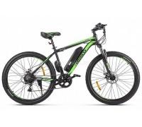 """Электровелосипед Eltreco XT 600 D 27.5"""" (черный/зеленый)"""