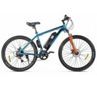 """Электровелосипед Eltreco XT 600 D 27.5"""" (синий/оранжевый)"""