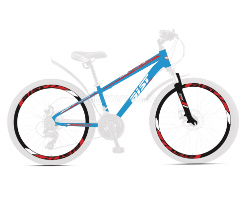 """Велосипед Aist Rocky Junior 1.1 24"""" (синий, 2021)"""