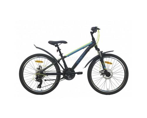 """Велосипед Aist Rocky Junior 2.1 24"""" (черный, 2021)"""