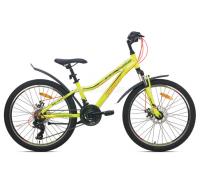 """Велосипед Aist Rosy Junior 2.1 24"""" (желтый, 2021)"""