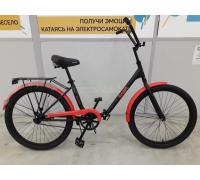 """Велосипед Aist Smart 1.1 24"""" (красный/черный)"""