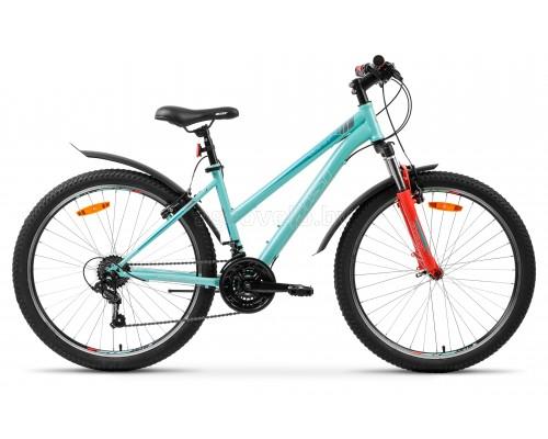 "Велосипед Aist Quest W 26"" (бирюзовый, 2021)"