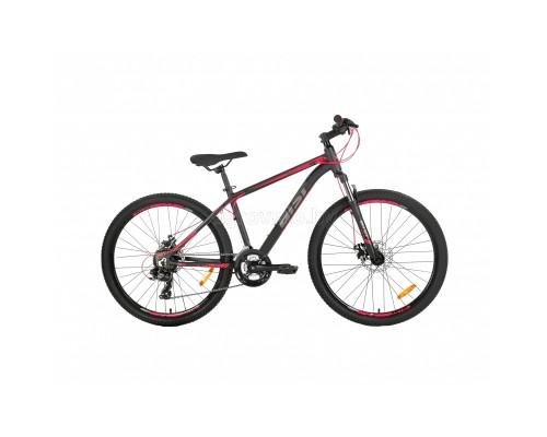 """Велосипед Aist Rocky 1.0 Disc 26"""" (черный/красный, 2021)"""