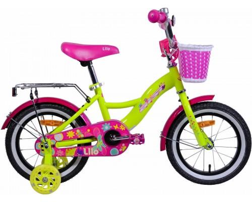 """Велосипед Aist Lilo 14"""" (желтый)"""