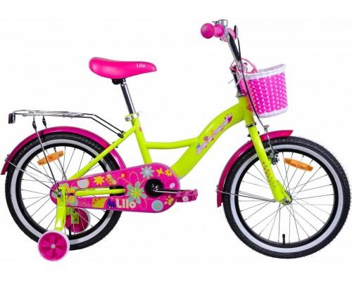 """Велосипед Aist Lilo 18"""" (желтый)"""