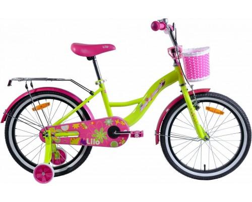 """Велосипед Aist Lilo 20"""" (желтый)"""