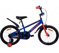 "Велосипед Aist Pluto 18"" (синий)"