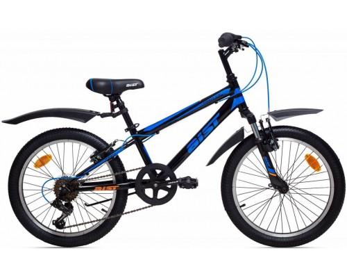 """Велосипед Aist Pirate 2.0 20"""" (черный/синий)"""