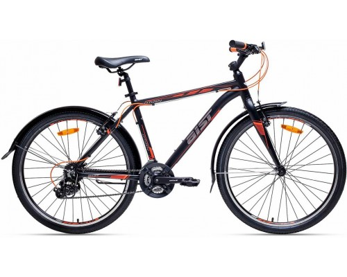 """Велосипед Aist Citizen 26"""" (черный/оранжевый)"""