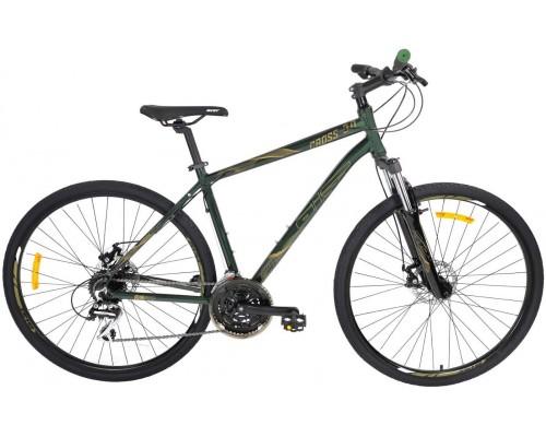 "Велосипед Aist Cross 3.0 28"" (зеленый)"