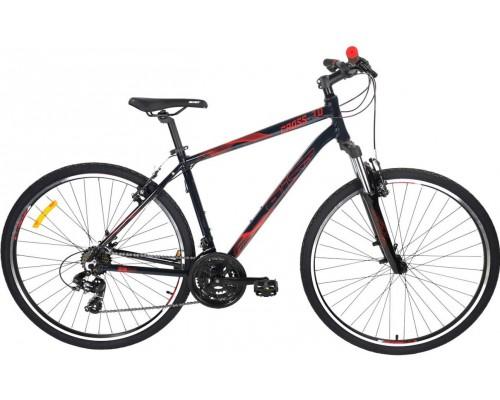 """Велосипед Aist Cross 1.0 28"""" (черный/красный)"""
