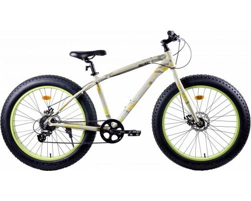 """Велосипед Aist FBS 26"""" (бежевый/салатовый)"""