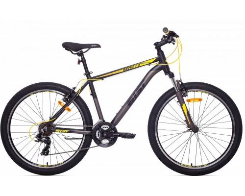 """Велосипед Aist Rocky 1.0 26"""" (черный/желтый)"""