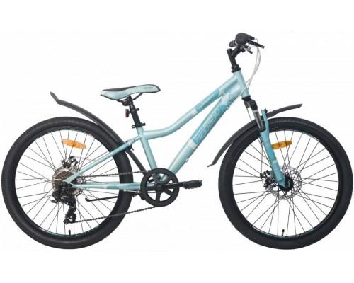 "Велосипед Aist Rosy Junior 1.1 24"" (бирюзовый)"