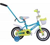 """Велосипед Aist Wiki 12"""" (бирюзовый/салатовый)"""