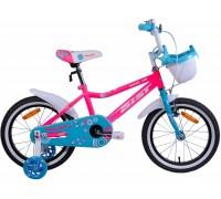 "Велосипед Aist Wiki 16"" (розовый/бирюзовый)"
