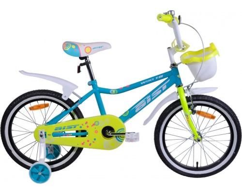 """Велосипед Aist Wiki 18"""" (бирюзовый/салатовый)"""