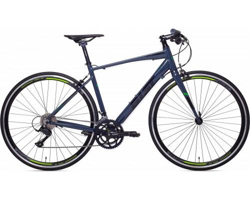 """Велосипед Aist Turbo 28"""" (графитовый/черный/салатовый)"""