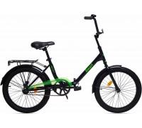 """Велосипед Aist Smart 1.1 20"""" (черный/салатовый)"""
