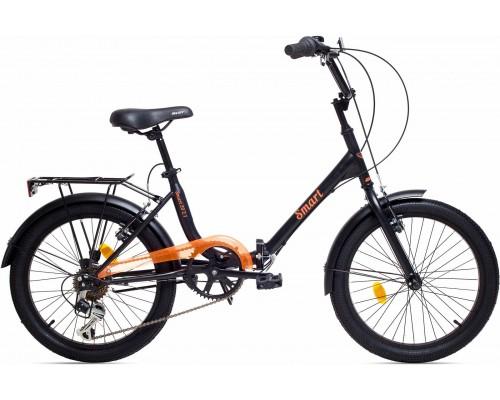 """Велосипед Aist Smart 2.1 20"""" (черный/оранжевый)"""