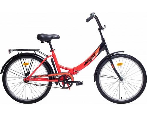 """Велосипед Aist Smart 1.0 24"""" (красный/черный)"""