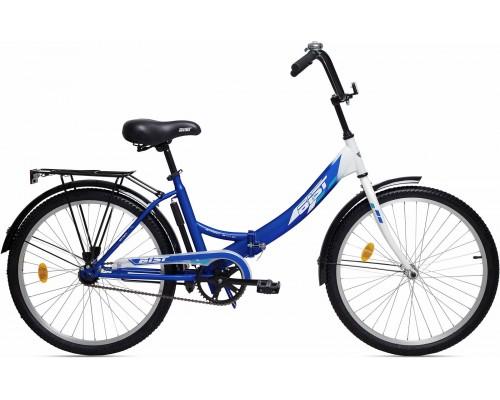 """Велосипед Aist Smart 1.0 24"""" (синий/белый)"""