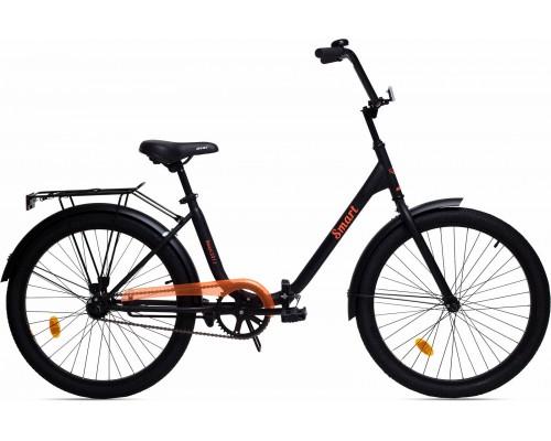 """Велосипед Aist Smart 1.1 24"""" (черный/оранжевый)"""