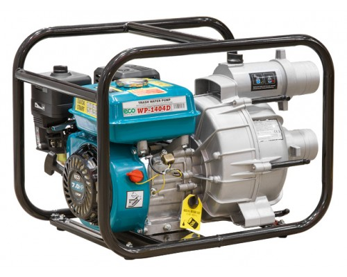 Мотопомпа ECO WP-1404D (для загрязнённой воды, 1400 л/мин)
