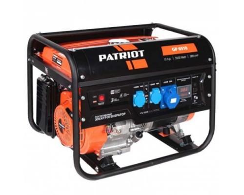 Электростанция (генератор бензиновый) Patriot GP 6510 (5,5кВт)