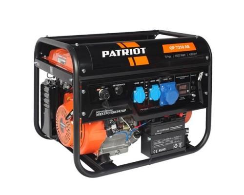 Электростанция (генератор бензиновый) Patriot GP 7210AE (6,5кВт)