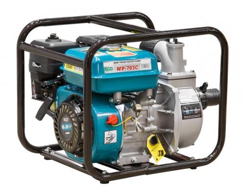Мотопомпа бензиновая ECO WP-703C (для слабозагрязненной воды, 700 л/мин)