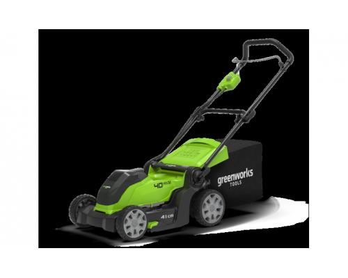 Газонокосилка аккумуляторная Greenworks G40LM41 40В G-MAX