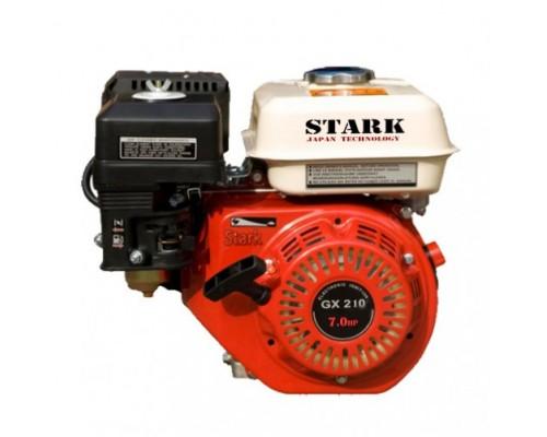 Двигатель бензиновый STARK GX210 (7 л.с., Шпонка ф19мм)