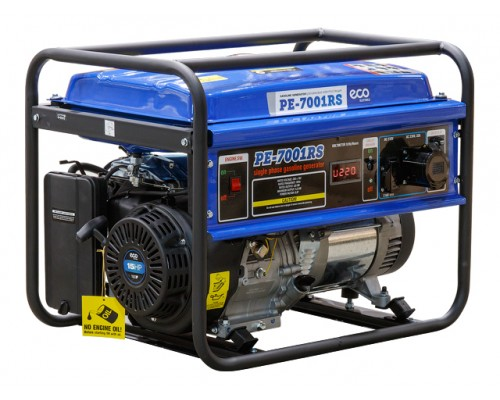 Электростанция (генератор бензиновый) ECO PE-7001RS (5.5кВт)