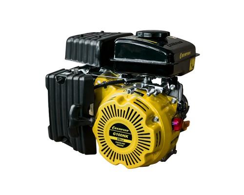 Двигатель бензиновый CHAMPION G100HK (2.5 л.с., Шпонка ф16мм)