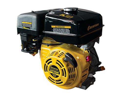 Двигатель бензиновый CHAMPION G270HK (9 л.с., Шпонка ф25.4мм)