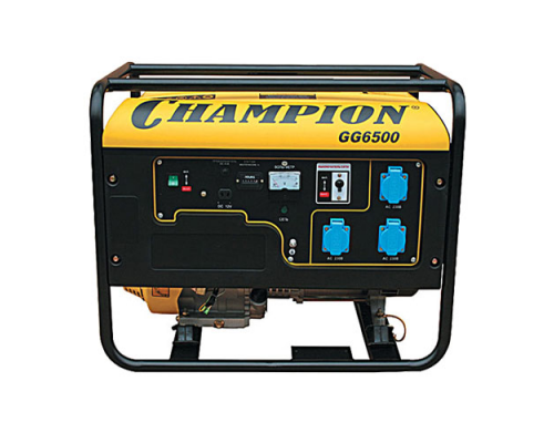 Электростанция (генератор бензиновый) CHAMPION GG6500 (5,5кВт)
