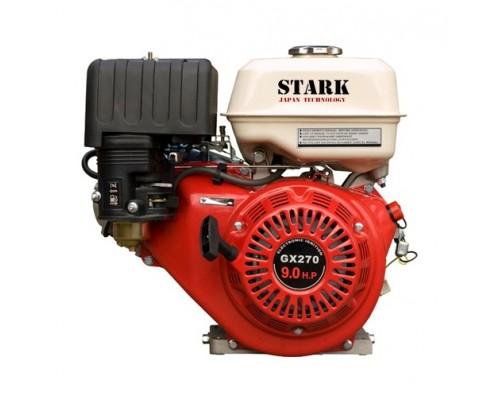 Двигатель бензиновый STARK GX270 (9 л.с., Шпонка 90х90 ф25мм)