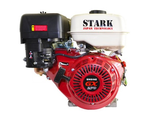Двигатель бензиновый STARK GX270 SN (9 л.с., Шлиц 80х80 ф25мм)
