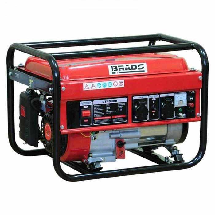 Электростанция (генератор бензиновый) BRADO LT4000B (2,8кВт)