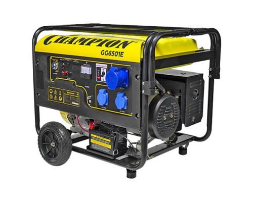 Электростанция (генератор бензиновый) CHAMPION GG6501E (5,5кВт)